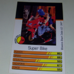 Action Man Power Cards 1996 Super Bike Trading card @sold@